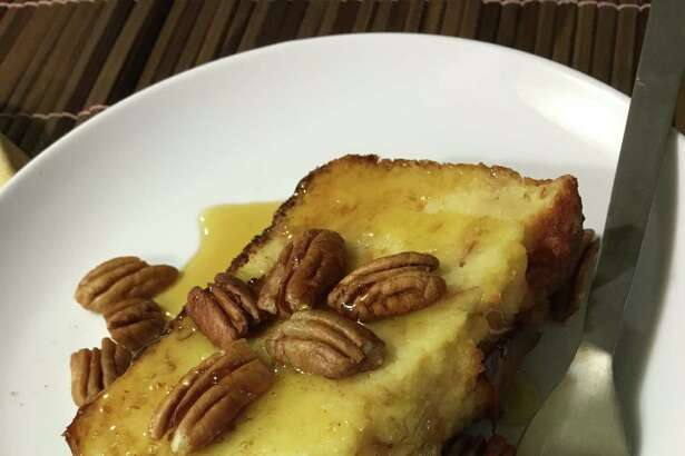 Bread Pudding from The Bread Box uses farm-fresh eggs, local milk and real maple syrup, as well as fresh brioche.