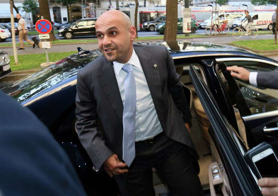 Anas Khaled Al-Saleh, Kuwait's deputy prime minister, minister of finance and acting minister of oil arrives at a hotel in Vienna, Austria, for OPEC's meeting Thursday. Photo: Ronald Zak /Associated Press / Copyright 2016 The Associated Press. All rights reserved. This material may not be published, broadcast, rewritten or redistribu