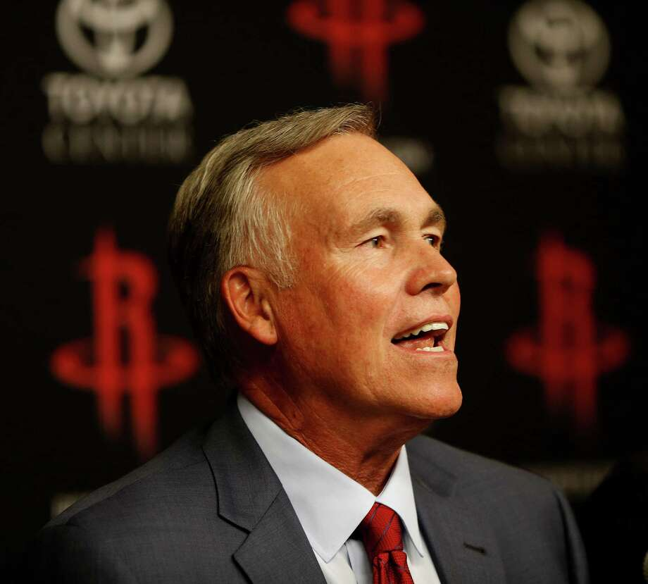 Mike D'Antoni speaks to the media during a press conference announcing him as the Houston Rockets new head coach, Wednesday, June 1, 2016, in Houston. Photo: Karen Warren, Houston Chronicle / © 2016 Houston Chronicle