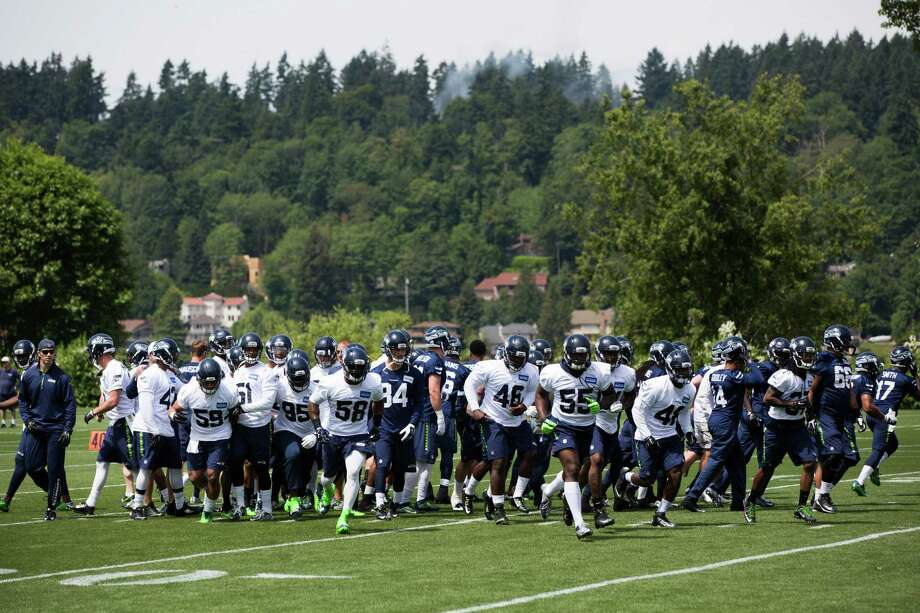 The Seahawks roster was recently ranked No. 13 in the NFL after being regarded as one of the league's best over the last few seasons. Photo: Grant Hindsley, SEATTLEPI.COM / SEATTLEPI.COM