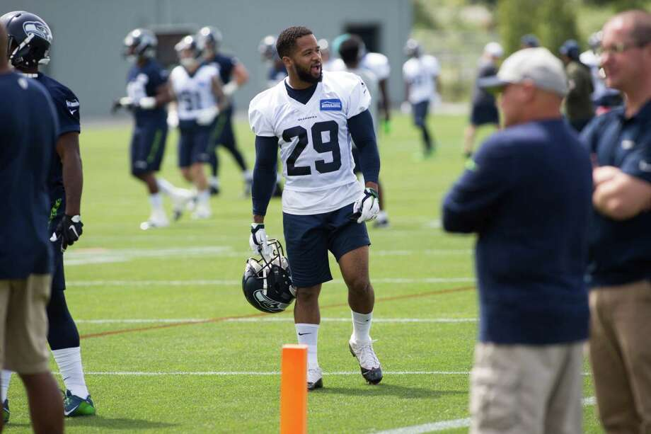 Seahawks free safety Earl Thomas roams the field during organized team activities practice at Virginia Mason Athletic Center in Renton on Wednesday, June 1, 2016. Photo: Grant Hindsley, SEATTLEPI.COM / SEATTLEPI.COM