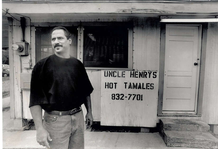 Hal Guillory at Uncle Henry's Tamales.