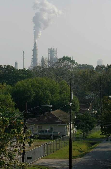 The Manchester neighborhood located in Houston's East End is next to the ship channel and several petrochemical plants.   ( Melissa Phillip / Chronicle ) Photo: Melissa Phillip, Staff / © 2007 Houston Chronicle