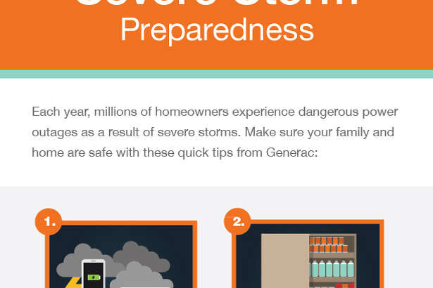 Hurricane season has officially started. The back-up power experts at Generac help us be prepared with power alternatives, generator safety and unique recipes.