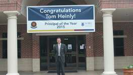 The Honor Roll School in Sugar Land announces that Principal Tom Heinly has been named K-12 Principal of the Year by its parent organization, Nobel Learning Communities Inc.