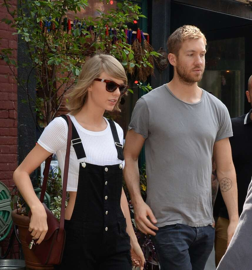 Blank SpaceTaylor Swift and her boyfriend of 15 months Calvin Harris reportedly split in May.