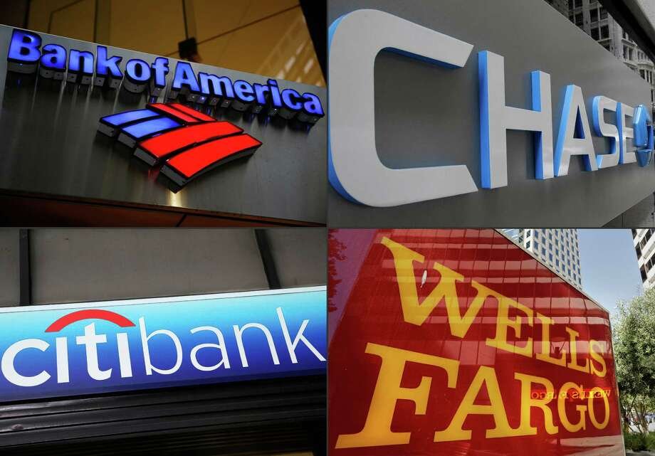 The largest U.S. banks - including Bank of America, JPMorgan Chase, Citigroup and Wells Fargo - have billions of dollars of exposure to energy loans. t Photo: STF / Copyright 2016 The Associated Press. All rights reserved. This material may not be published, broadcast, rewritten or redistribu