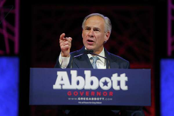 Gov. Greg Abbott speaks at the Republican Party of Texas State Convention at the Kay Bailey Hutchison Convention Center, Thursday, May 12, 2016 in Dallas. (Rodger Mallison / Fort Worth Star-Telegram)