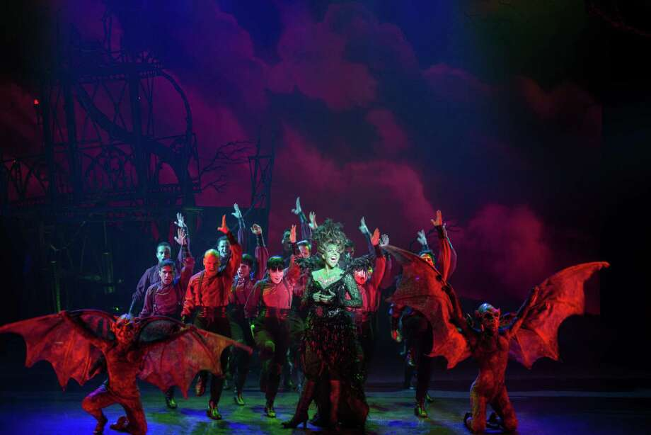 """The Wicked Witch of the West (Shani Hadjian) marshals her flying monkeys in """"The Wizard of Oz,"""" which is coming to the Majestic Theatre. Photo: Daniel A. Swalec, Photographer / Courtesy Daniel A. Swalec / Daniel A. Swalec  © 2015"""