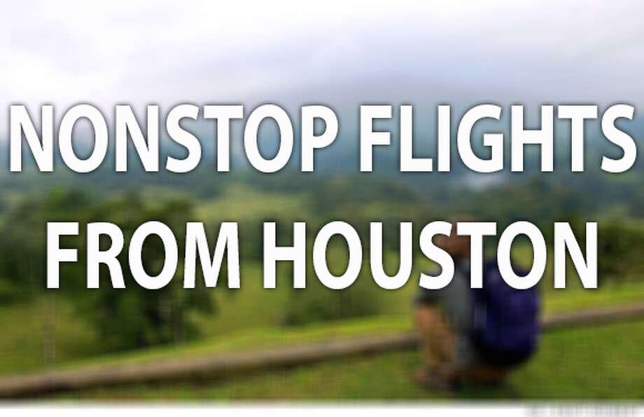 Nonstop Flights From Houston San Antonio Express News