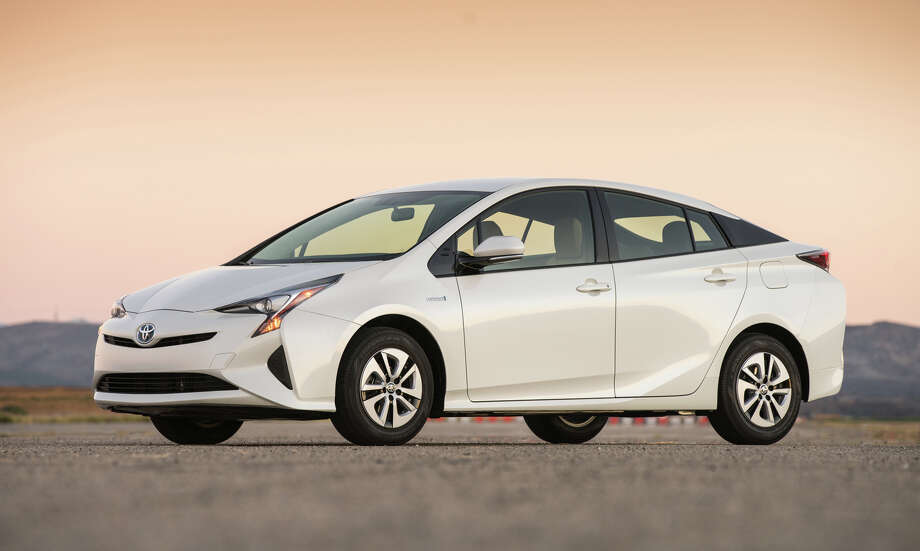 The 2016 Toyota Prius may not win any beauty contests, but the wind-cheating aerodynamics pay off in the quest for 50 mpg ratings. Photo: Toyota / dewhurstphoto
