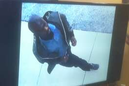 Surveillance image of person of interest in flores stabbing death May 17 in north Houston