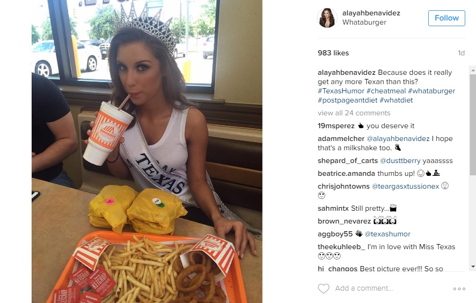 Newly Crowned Miss Texas Celebrates Win At San Antonio
