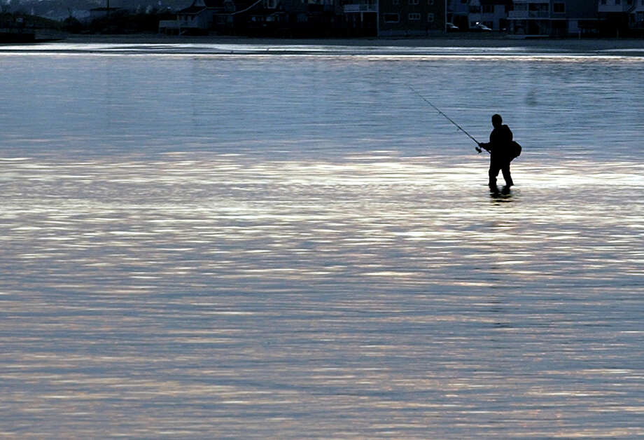 A Shelton and Berlin man were arrested on June 1, 2016 for fishing with fake fishing licenses, according to the state Department of Energy and Environmental Protection. Photo: Christian Abraham / Christian Abraham / Connecticut Post