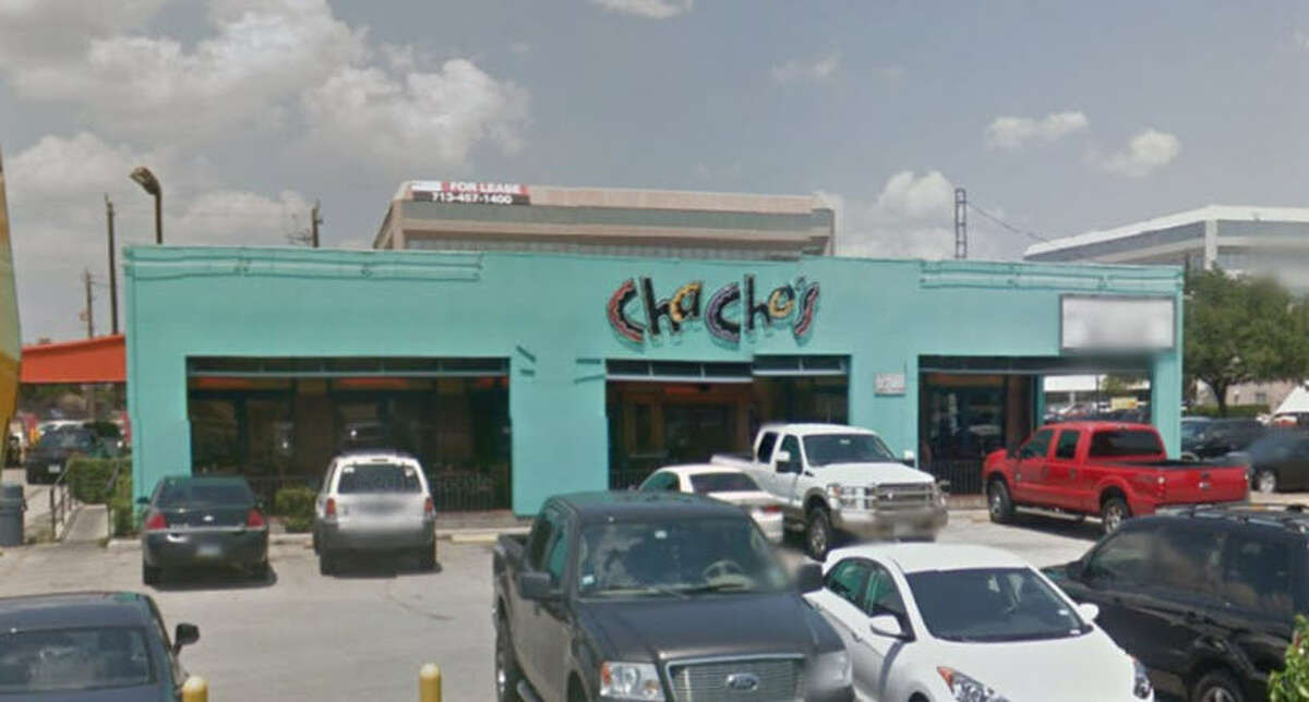 Chacho's #6 Address: 2700 South Loop West, Houston, Texas 77054 Demerits: 16 Inspection highlights: Observed slime on ice machine interior surfaces/soda nozzles/ bar gun. Observed presence of small flies not controlled within the physical facility under control of permit holder.