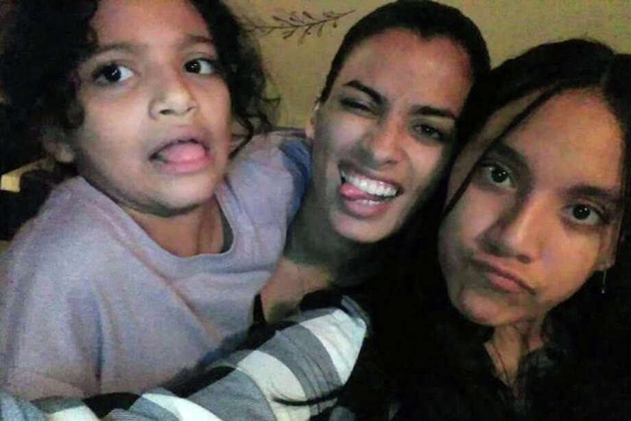 A photo of Jesenia Valentin, a 29-year-old aspiring actress, her 9-year-old daughter, Angelina Rodriques, her 12-year-old niece, Asyria Ferrer from the gofundme page. Photo: Contributed Photo / Connecticut Post contributed
