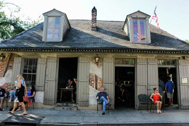Lafitte's Blacksmith Shop, an atmospheric bar in New Orleans' French Quarter, was built in 1722 as a base for pirate Jean Lafitte and his crew, who operated out if Barataria Bay off the Louisiana coast. (Rebecca Ratliff/TNS)