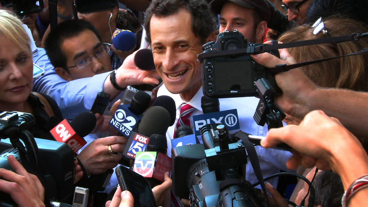 WEINER: 5 stars This acclaimed documentary recounts the controversy that took down New York Congressman Anthony Weiner's mayoral campaign. (R)Read the review: 'Weiner' is a riveting study in contrasts