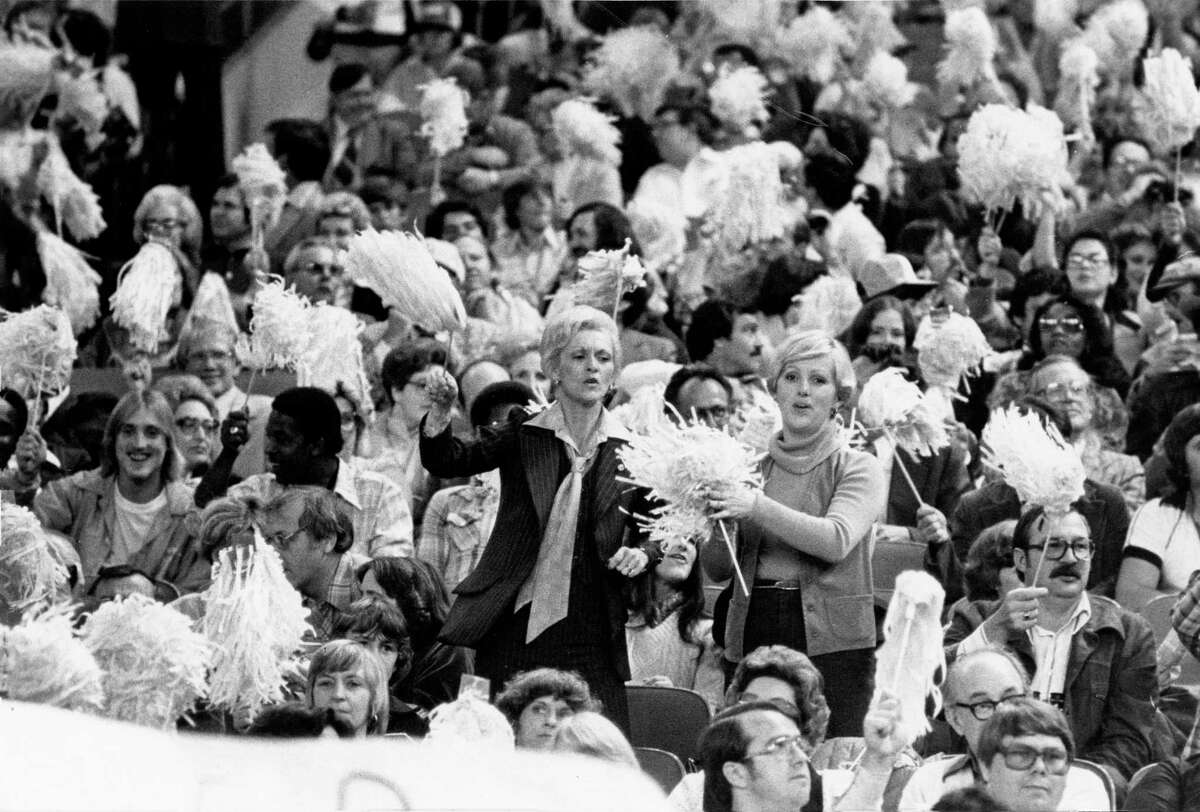 The late Jack Cherry was credited with innovations asuch as handing out white towels to fans during the Oilers' Luv Ya Blue era.