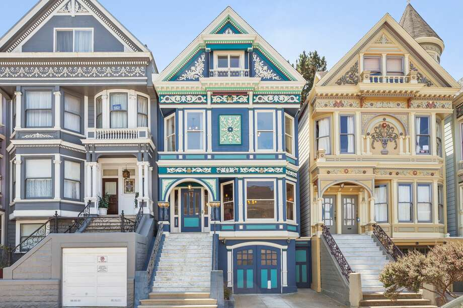 Queen Anne perfection: One of San Francisco's famed Four Seasons' Victorians is on the market for $2.985 million. The four-bedroom has been lovingly restored by an owner who has lived in the home for nearly 40 years. Photo: Open Homes Photographer