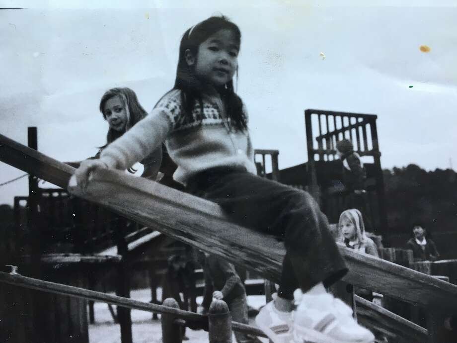A childhood photo of the writer.