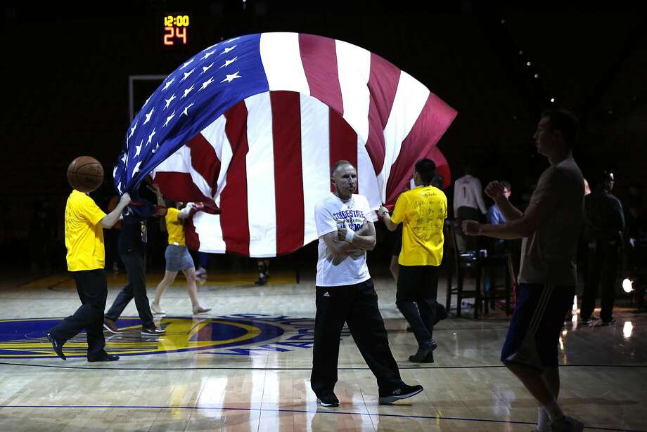 Golden State Warriors' assistant coach Ron Adams walks on the court before Warriors play Cleveland Cavaliers in Game 1 of NBA Finals at Oracle Arena in Oakland, Calif., on Thursday, June 2, 2016. Photo: Scott Strazzante, The Chronicle