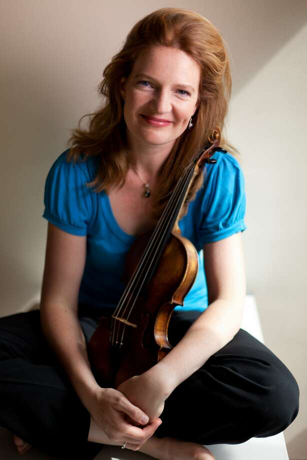 Violinist Rachel Podger played stylish and dramatically focused Bach on Thursday evening. Photo: Jonas Sacks
