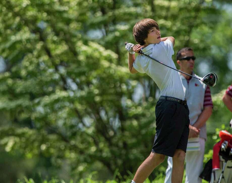 FCIAC boys golf championship played at Fairchild Wheeler Golf Course, Fairfield, CT on Thursday, June 2, 2016. Photo: Mark Conrad / For Hearst Connecticut Media / Connecticut Post Freelance