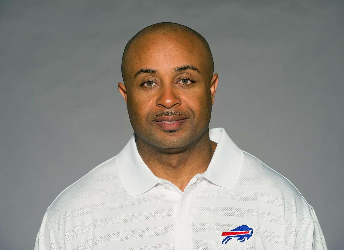 ROCHESTER, NY - CIRCA 2011: In this handout image provided by the NFL, Curtis Modkins of the Buffalo Bills poses for his NFL headshot circa 2011 in Rochester, New York. (Photo by NFL via Getty Images)