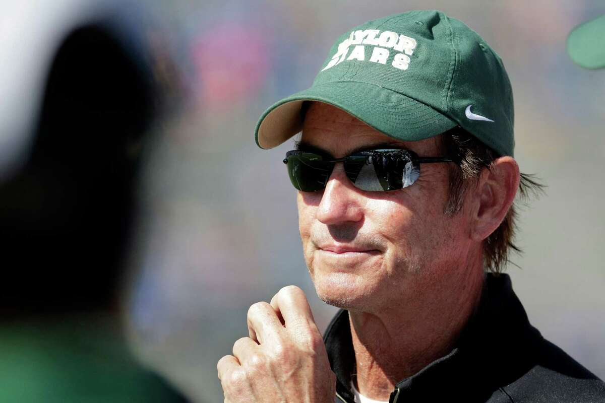 """Art Briles released a statement but said he is """"contractually obligated to remain silent"""" about the details of his dismissal."""
