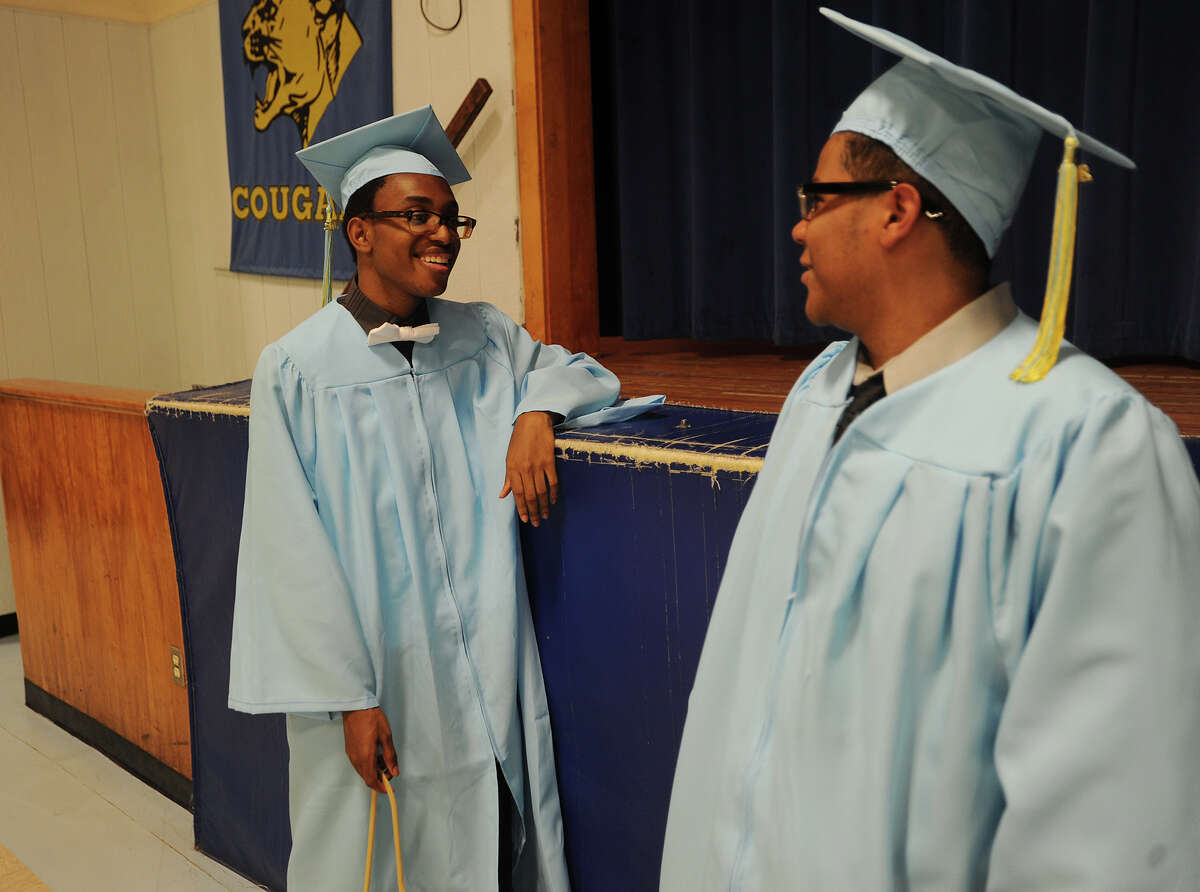 Kolbe Cathedral High School graduation at Saint Augustine Cathedral in Bridgeport, Conn. on Thursday, June 2, 2016.