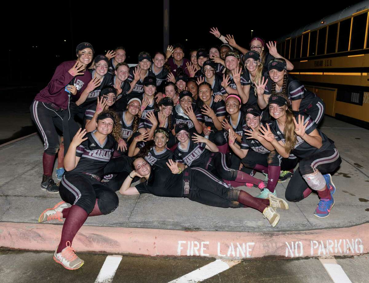 The Oilers (31-6-1) have 14 seniors signed to play college softball at one level or another, and even though they don't all play - how could they? - that's a lot of senior leadership in the starting lineup and on the bench, so it's no surprise they're back at state for the sixth time. But is this the year they claim state championship No. 3 after coming up short in their last appearance in 2011, when they fell to eventual national champion The Woodlands in the semis?