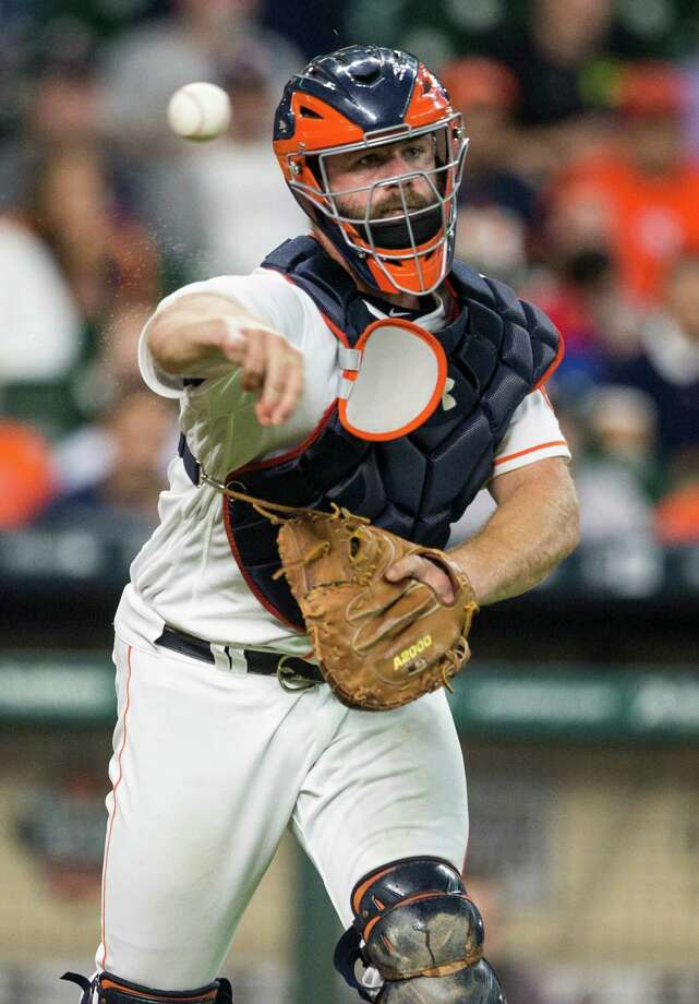 Due to Jason Castro being ill, Gattis will catch again for the Astros. Photo: Brett Coomer, Staff / © 2016 Houston Chronicle
