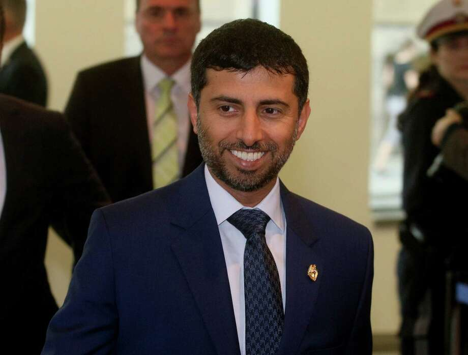 Suhail Mohamed Al Mazrouei, Minister of Energy of the United Arab Emirates. Photo: Ronald Zak, STR / Copyright 2016 The Associated Press. All rights reserved. This material may not be published, broadcast, rewritten or redistribu