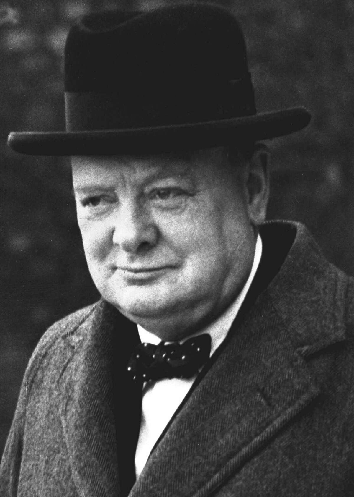 ADVANCE FOR SUNDAY, SEPT. 26--FILE--Winston Churchill is pictured in London in this March 28, 1940, file photo. On June 17, 1940, as German forces marched acoross continental Europe and the United States was still holding back from the growing conflict, the new British prime minister summoned his nation to battle Adolf Hitler. (AP Photo/FILE). HOUCHRON CAPTION (01/01/2000): No. 94: Churchill becomes prime minister, 1940. HOUCHRON CAPTION (06/05/2000): Churchill in 1940. HOUCHRON CAPTION (06/27/2000): Winston Churchill was among British officials who received intercepted intelligence messages. HOUCHRON CAPTION (12/03/2000): Winston Churchill is regarded by most Americans as a great statesman. But his own countrymen are harder to convince. HOUCHRON CAPTION (11/28/2001)(07/21/2002)(12/26/2002)(06/18/2004): Churchill. ON two / LOOKING BACK. HOUCHRON CAPTION (02/06/2005-2-STAR) SECNEWS: COLOSSUS: Winston Churchill's strength during World War II overrode his past mistakes.