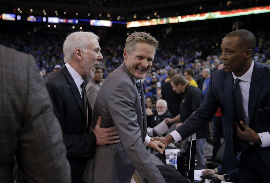 Steve Kerr Thinks Gregg Popovich Would be a Great President