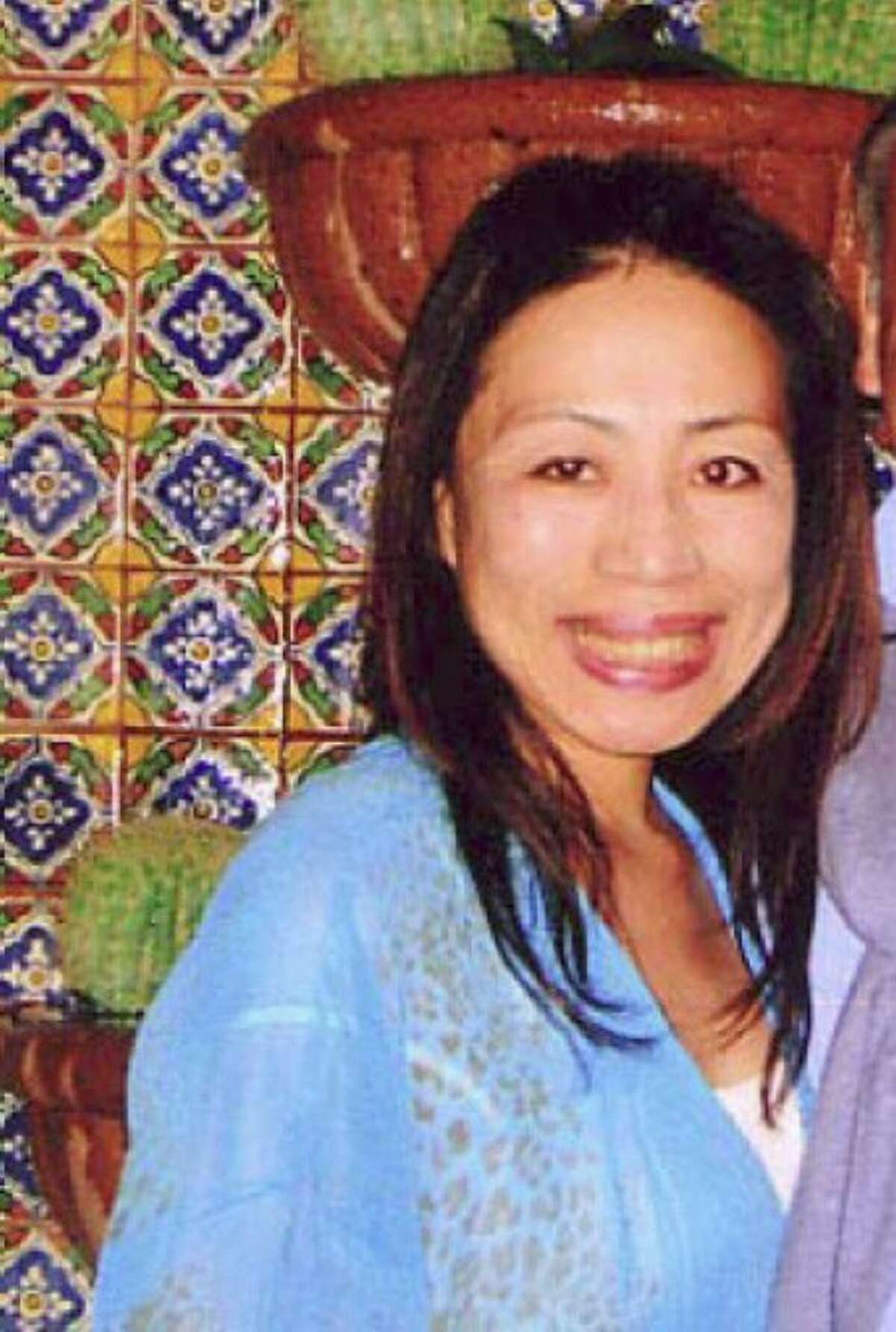 Westport police are searching for Michiko Kamhi, 48, after her vehicle turned up in Westport on Tuesday, April 20, 2010. Kamhi was reported missing by Greenwich police on Tuesday.