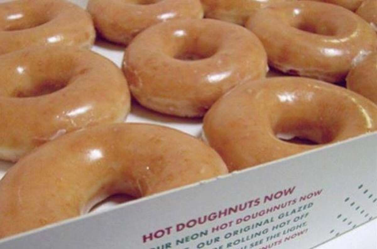 Free Krispy Kreme doughnut : At most U.S. locations, click here to see which spots are not participating.