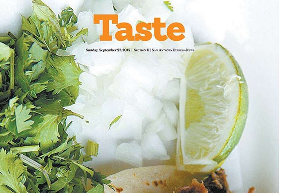 Cover of Taste section
