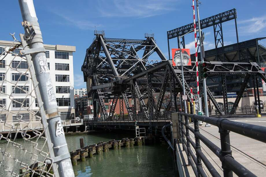 The Lefty O'Doul Bridge shares a designer with the Golden Gate. Photo: Amy Osborne, Special To The Chronicle