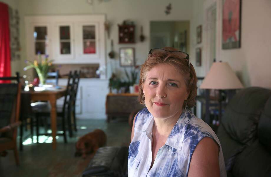 Elizabeth Wallner of Sacramento worked to pass the law but won't use it unless her cancer spreads. Photo: Liz Hafalia, The Chronicle