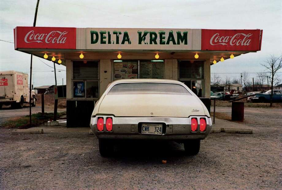 "Untitled photograph from William Eggleston's portfolio ""Los Alamos, 1965-74."""