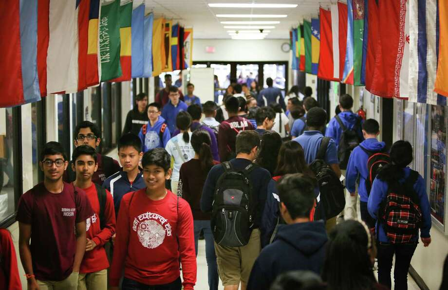 DeBakey High School in Houston ISD has been ranked as the No. 18 high school in the nation, and No. 5 among magnet schools in a new ranking by U.S. News & World Reports. Photo: Steve Gonzales / © 2016 Houston Chronicle