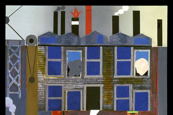 "Romare Bearden, ""Pittsburgh Memories"" (1984)"