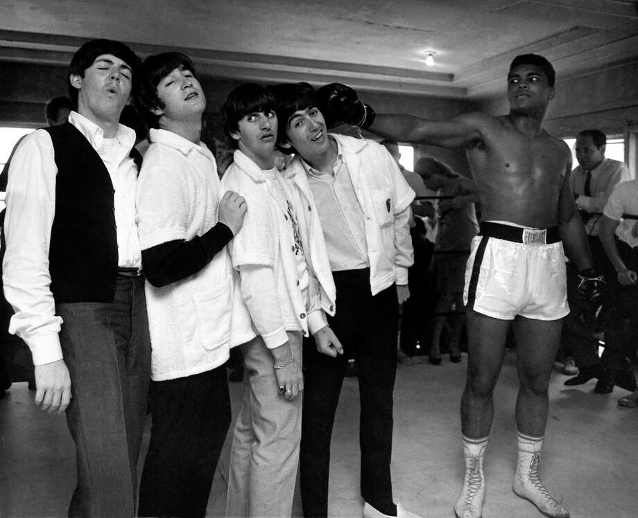 """Harry Benson: Shoot First"" profiles photographer Harry Benson whose famous images include pairing The Beatles with Muhammad Ali in his Miami gym. Photo: Harry Benson /Contributed Photo / Connecticut Post Contributed"