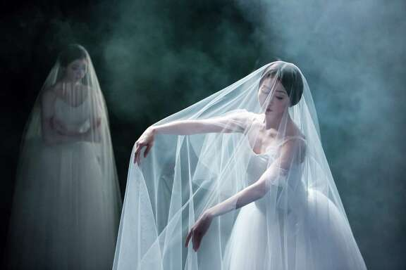 "Houston Ballet principal dancer Yuriko Kajiya is cast as the lead character for the opening night performance of Stanton Welch's new ""Giselle."""