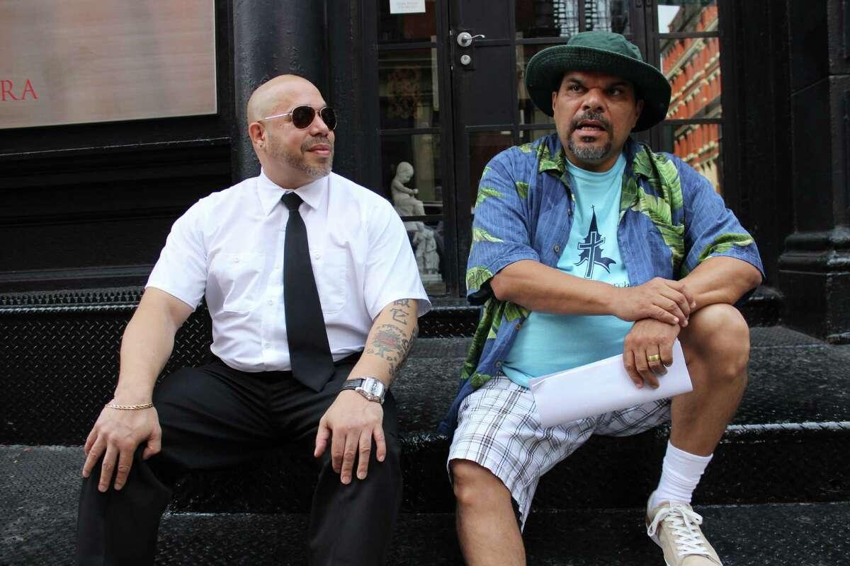 "Edgar Garcia, left, and Luis Guzmán star in the comedy ""Puerto Ricans in Paris."""