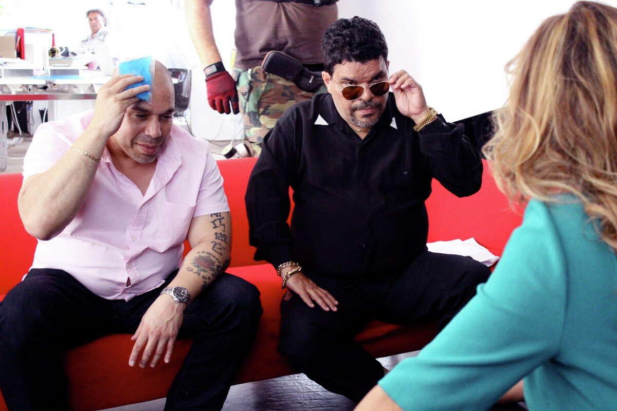 "Edgar Garcia and Luis Guzman star in the comedy Â?""PUERTO RICANS IN PARISÂ?"" a Focus World release."