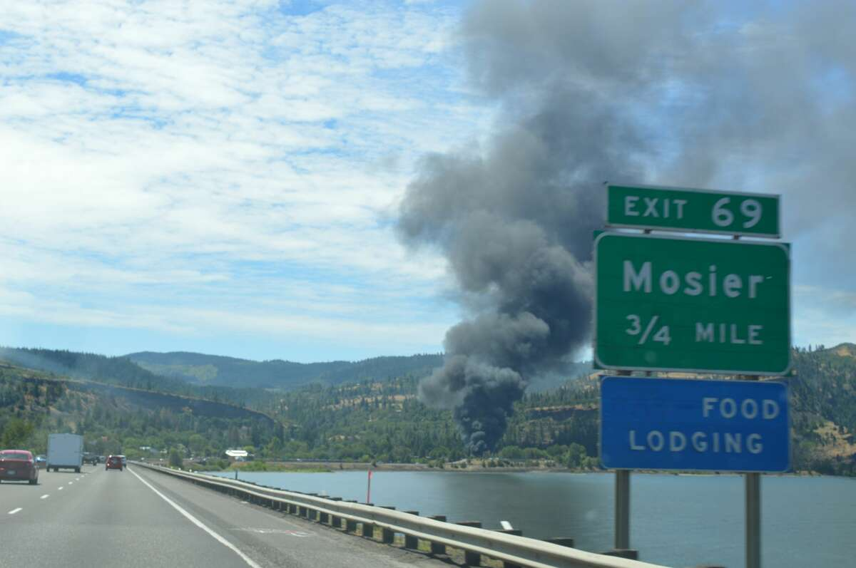"""After a 16 car oil train derailment and fire in the Columbia Gorge, West Coast senators want to light a fire under the U.S. Department of Transportation. Citing an """"imminent hazard"""" to communities, 10 U.S. Senators have called for USDOT to """"immediately"""" set a rule limiting the volatility of crude oil being transported by rail. ."""