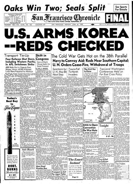 Chronicle Covers From The Cold War To The Korean War